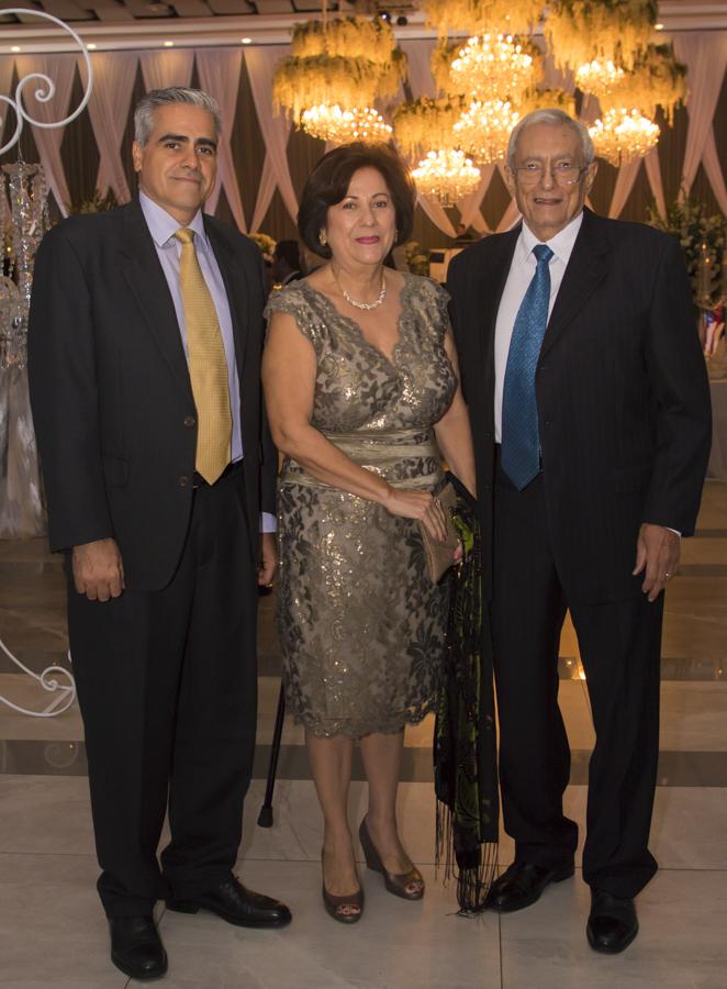 El banquete de bodas de Arlene Imendia y Ricardo Rivera