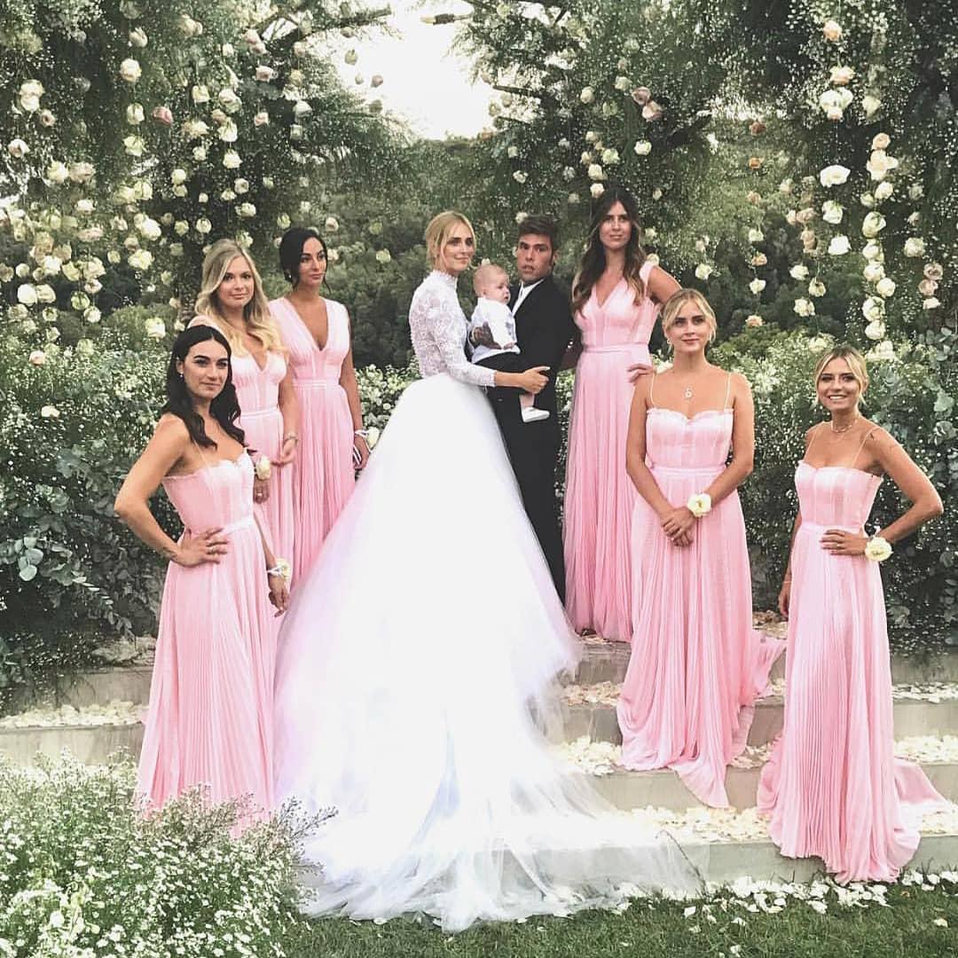 La flamante boda de Chiara Ferragni y Fedez en Sicilia