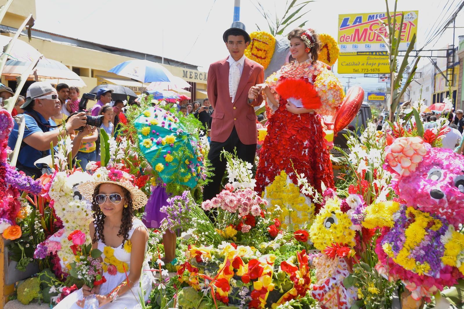 Resultado de imagen para festival de las flores siguatepeque 2019