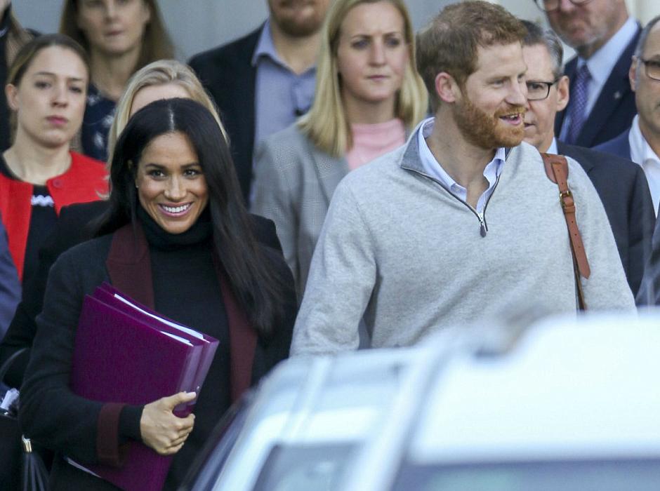 Harry y Meghan Markle esperan su primer hijo