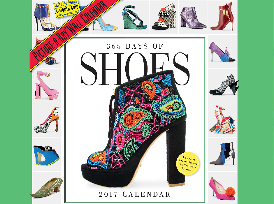 ¡El mejor calendario del año! / 365 days of Shoes