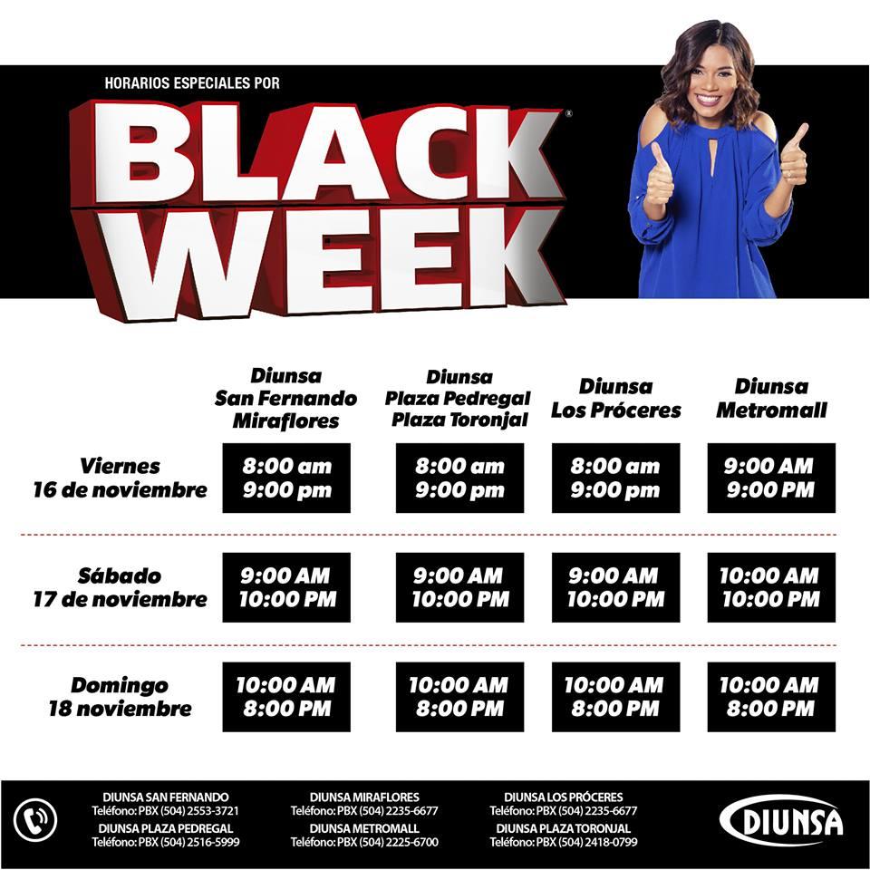 black week diunsa 2018 los precios de locura en san pedro sula. Black Bedroom Furniture Sets. Home Design Ideas