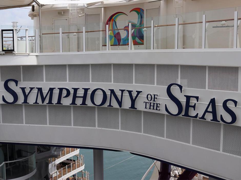 interior del Symphony of the Seas