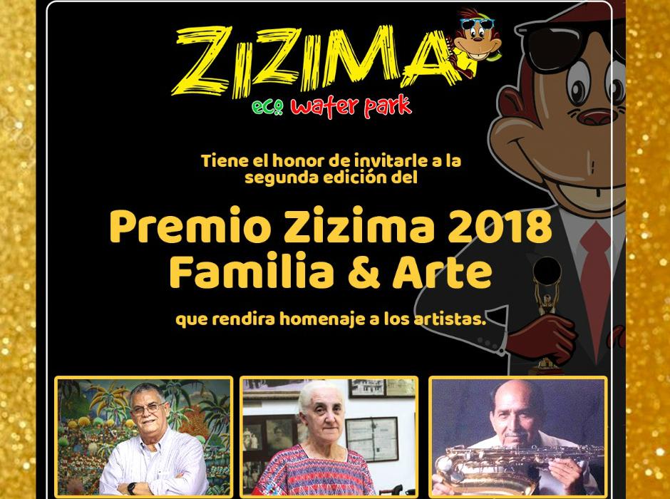 Premio Zizima 2018 familia y arte