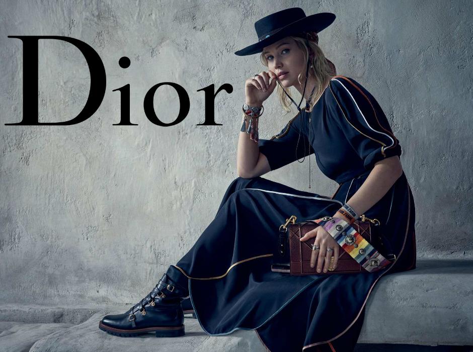 Jennifer Lawrence la nueva imagen de la firma Dior