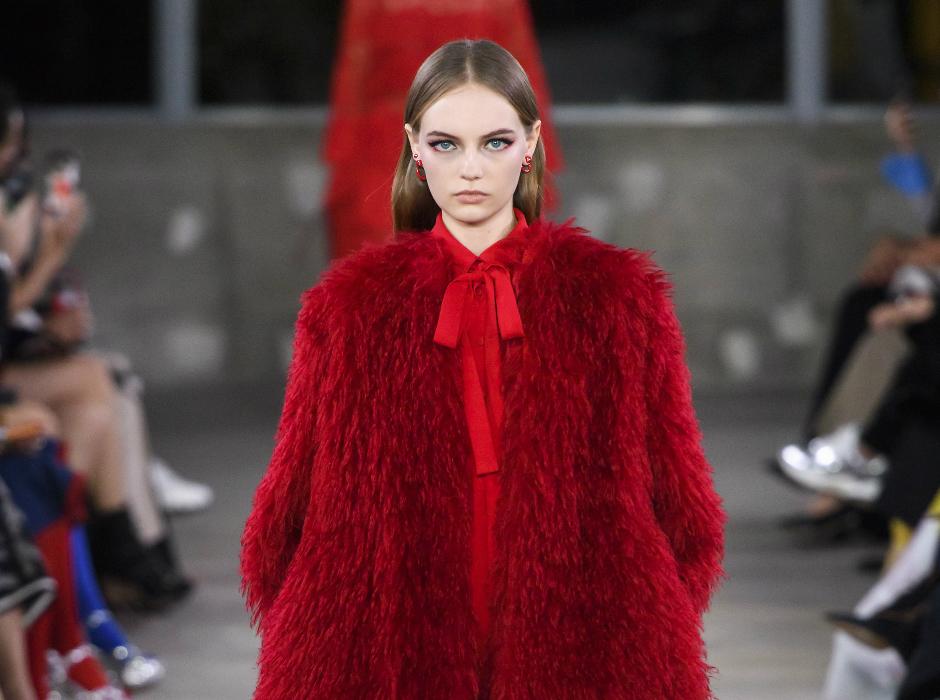Valentino presentó la colección Pre/Otoño 2019