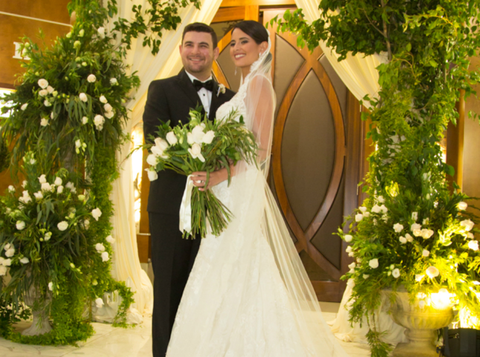 La inolvidable boda de María Yuja Bendeck y Elías Chahín Jezicky