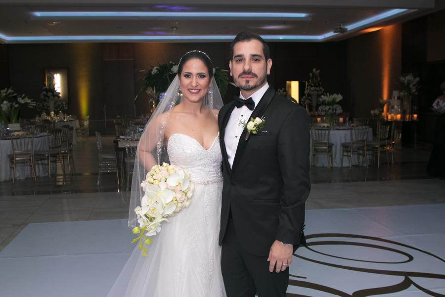 Ruth Estevez y Giancarlo Riett