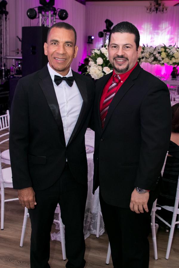 Francis Parham y Olvin Zelaya