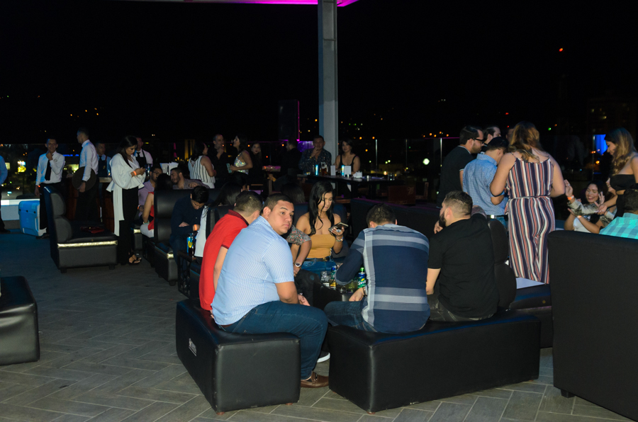 A night in Las Vegas party