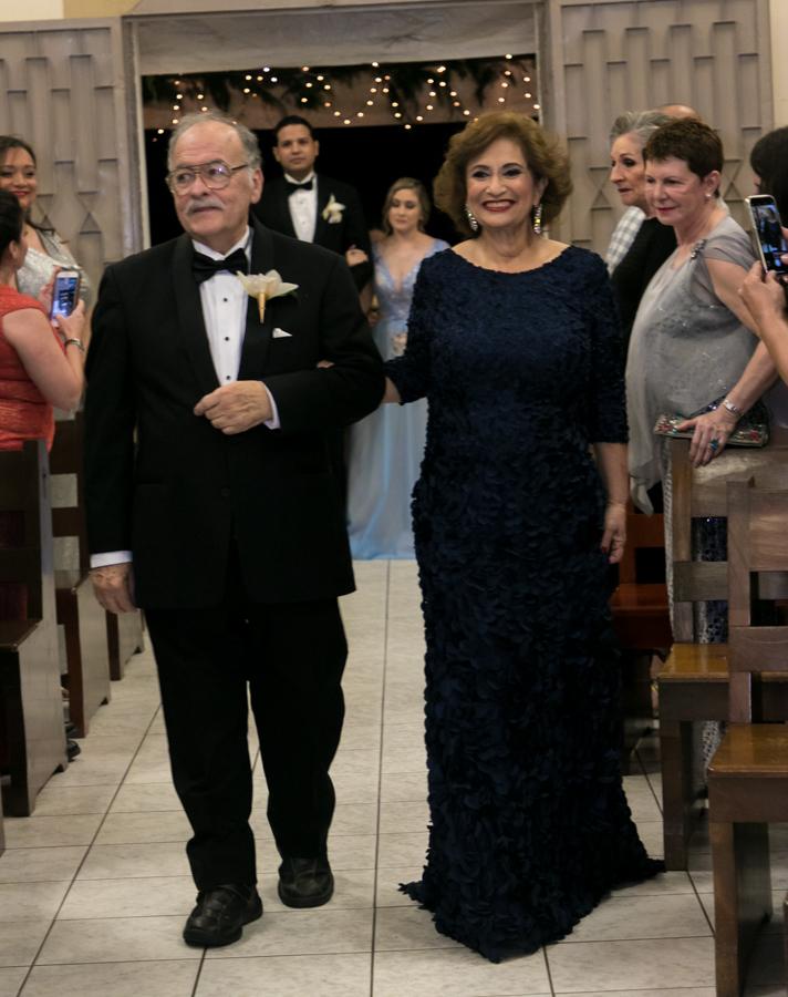 Ilda Ledbetter Bendeck y Luis Tirso Boquín Orenday