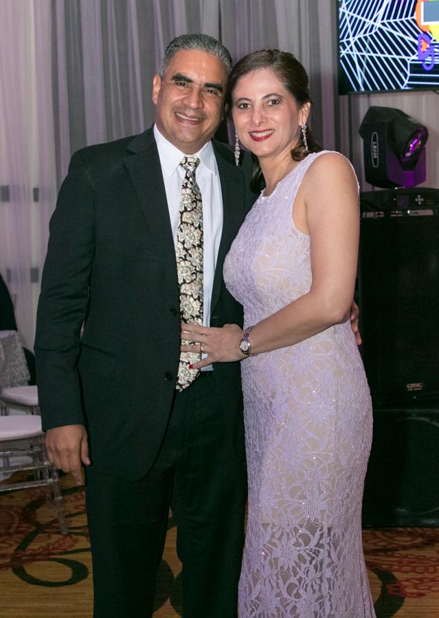 Daniela Funes y Carlos Urbina