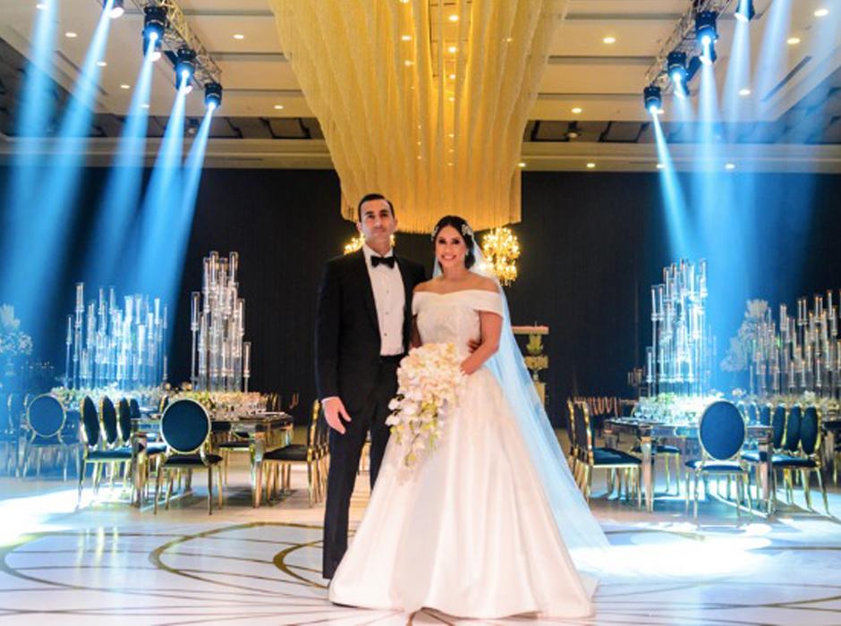 La boda de Mónica Hernández y Farid Handal en San Pedro Sula