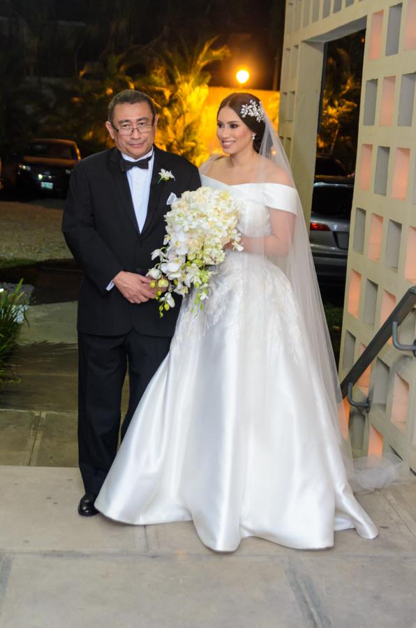 Farid Handal y Mónica Hernández