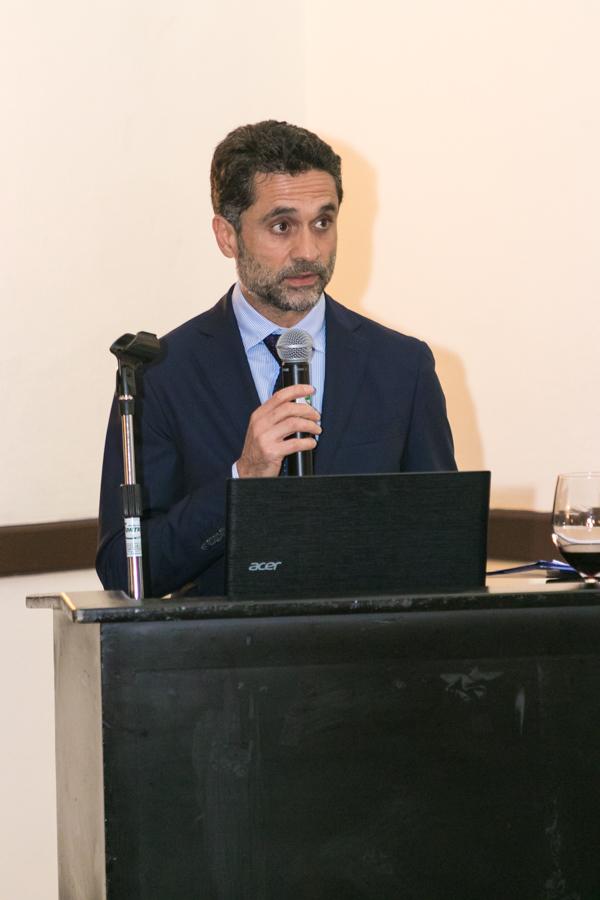 embajador de Italia Edoardo Pucci