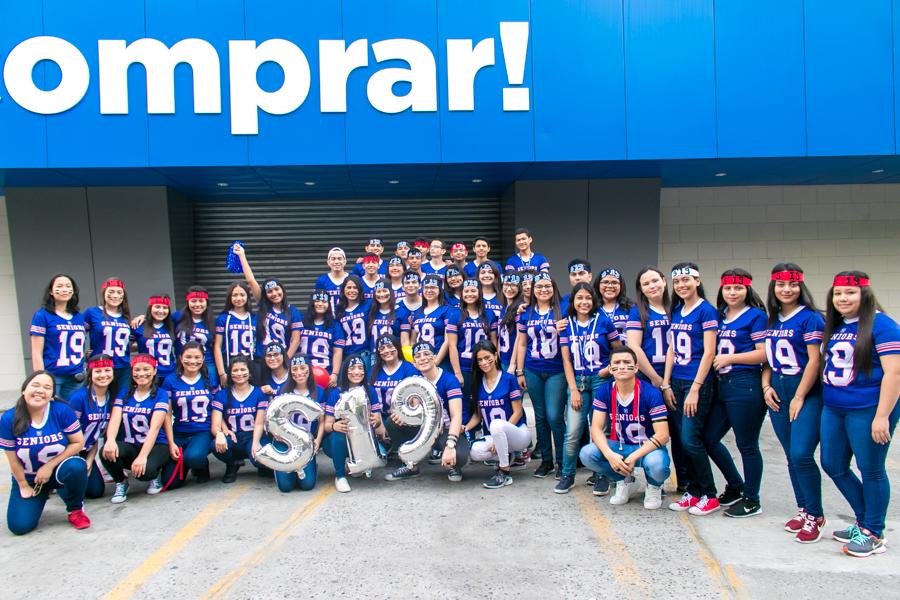 La entrada clase 2019 Centro Cultural Sampedrano