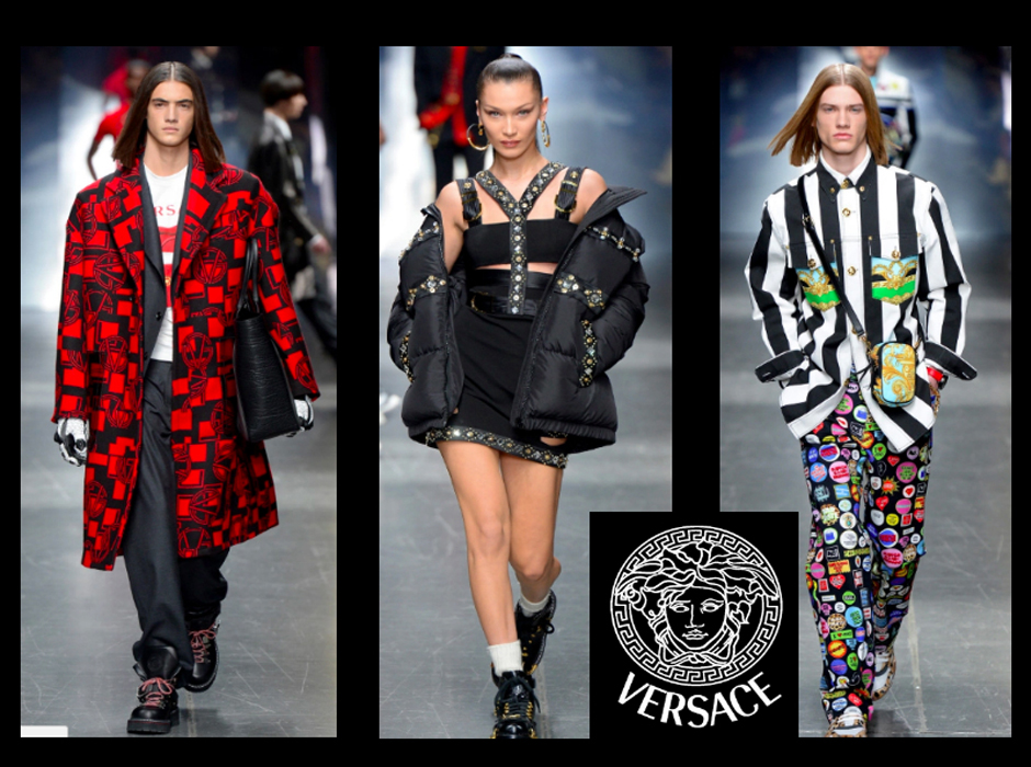 Versace Fall Winter Menswear