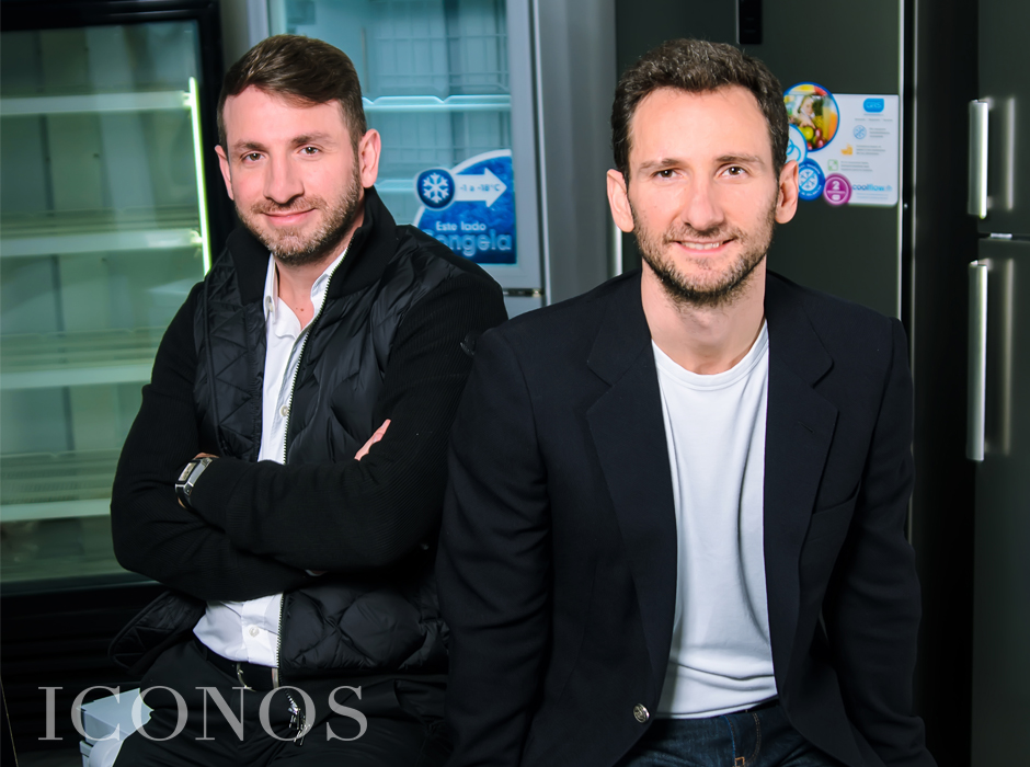 Jose y Carlos Chahin en Iconos Mag