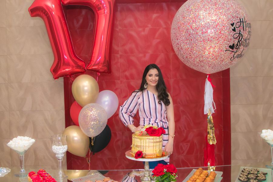 El cumpleaños de Salma Zayed