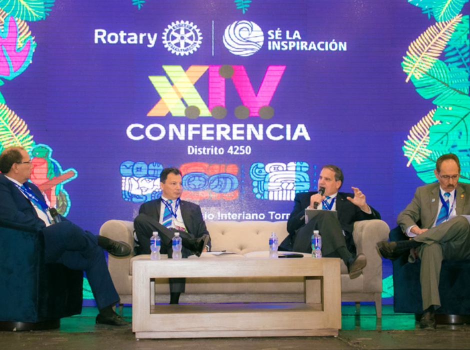 Conferencia Distrito 4250 Rotary International 2019