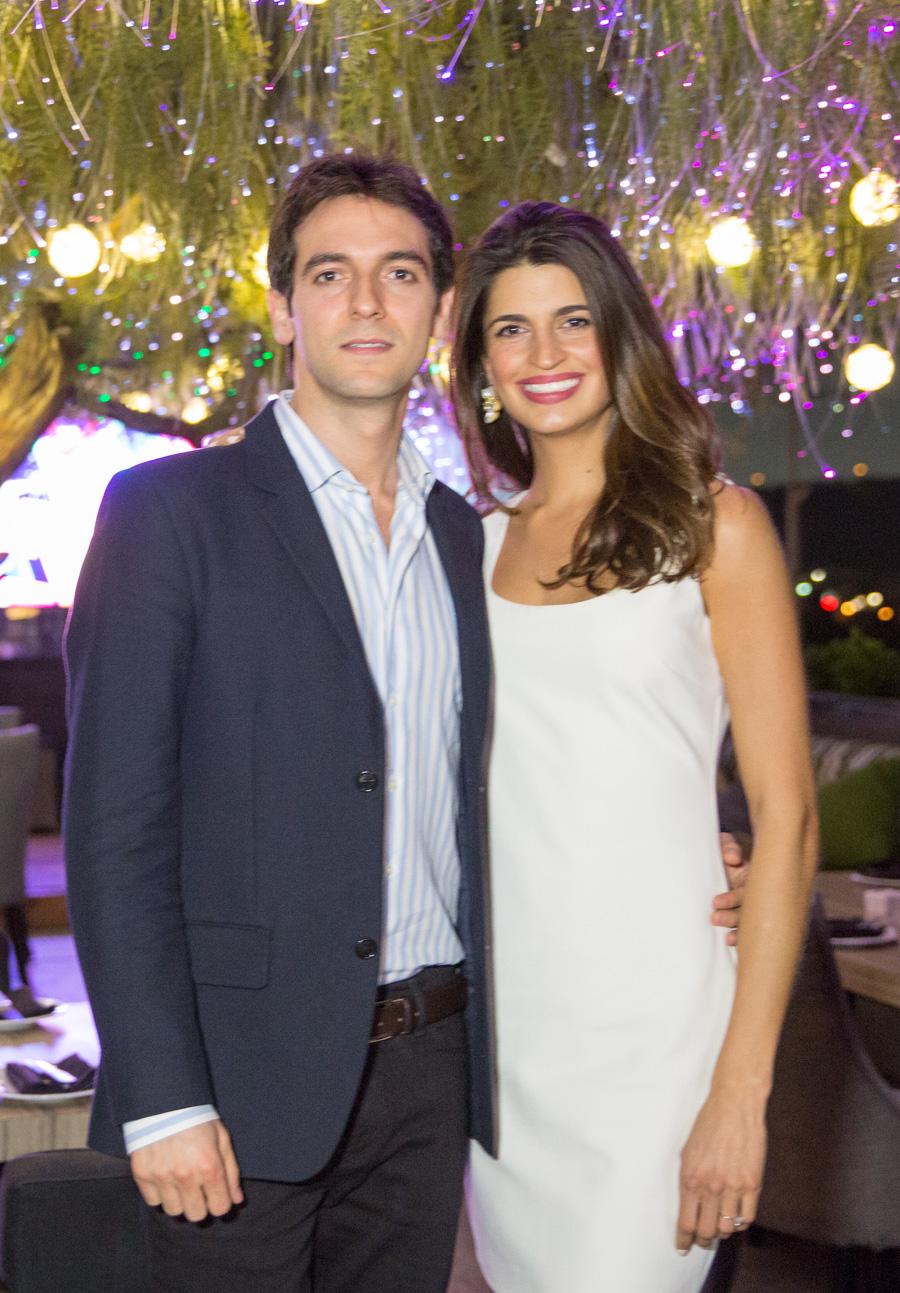 Los novios Isabel Valdez y Alejandro Chahín