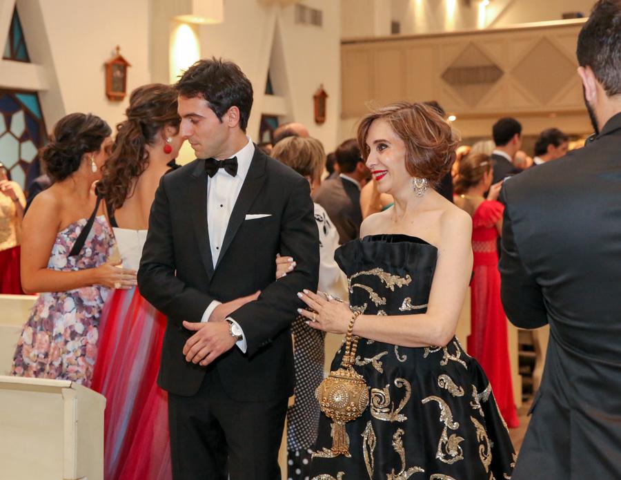 Isabel Valdez Franco y Alejandro Chahín