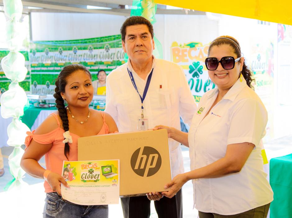 Becas Clover Brand 2019 de Grupo Jaremar Honduras