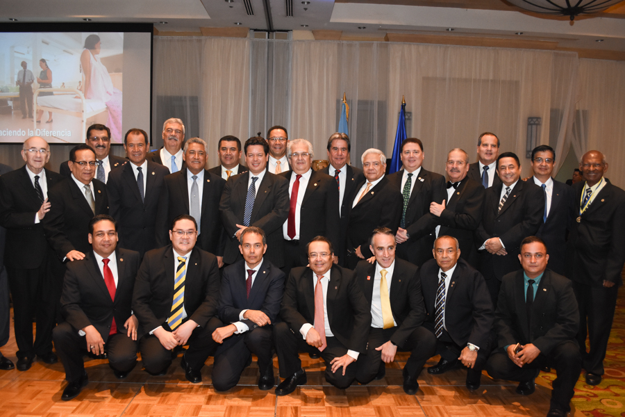 Los 90 años Club Rotario de Tegucigalpa