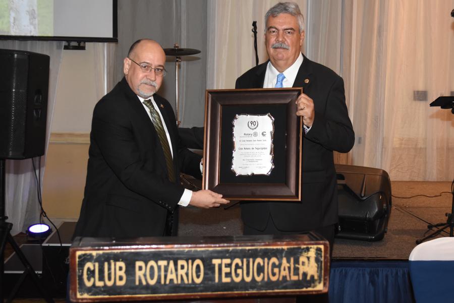 Los 90 años Club Rotario Tegucigalpa