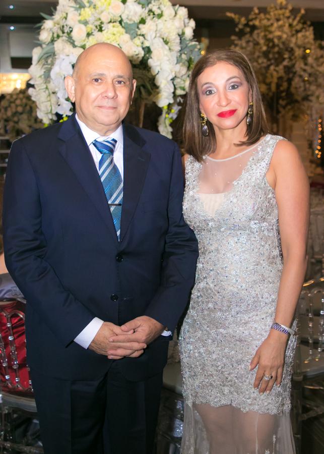 Alexandra Zgheibra y Daniel Pitsikalis