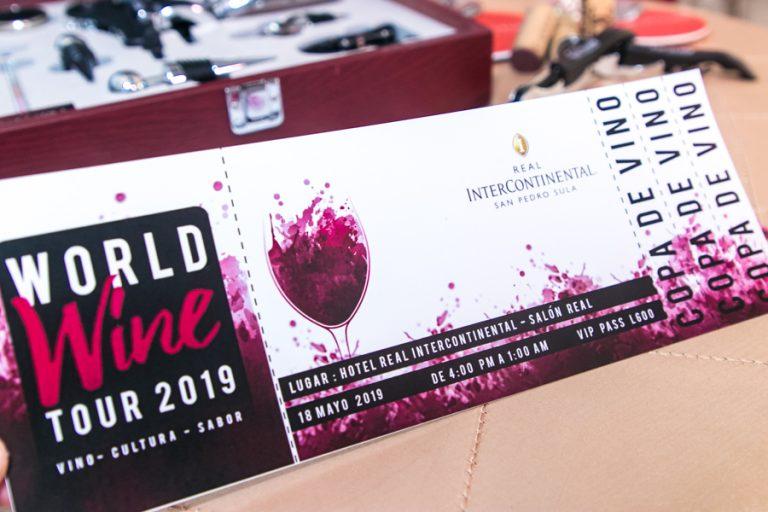 World Wine Tour 2019