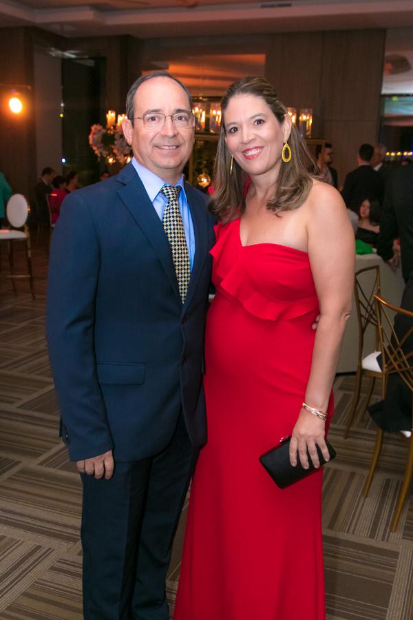 Denisse Chinchilla y Ricardo Córdoba