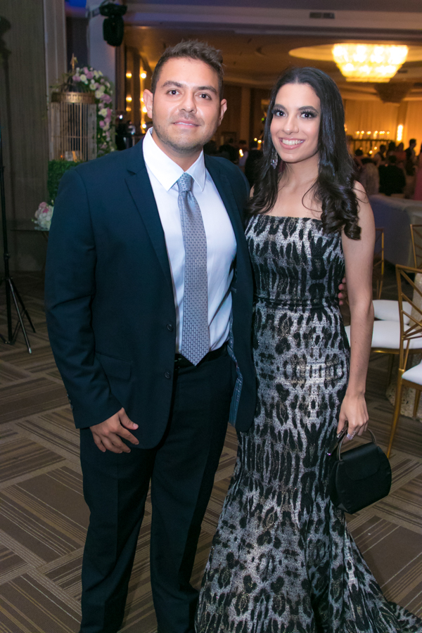 Denisse Chinchilla y Ricardo Córdoba