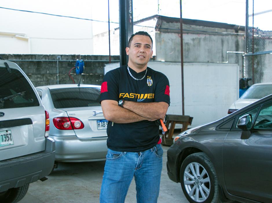 Daniel García, estudiante de Washington Academy