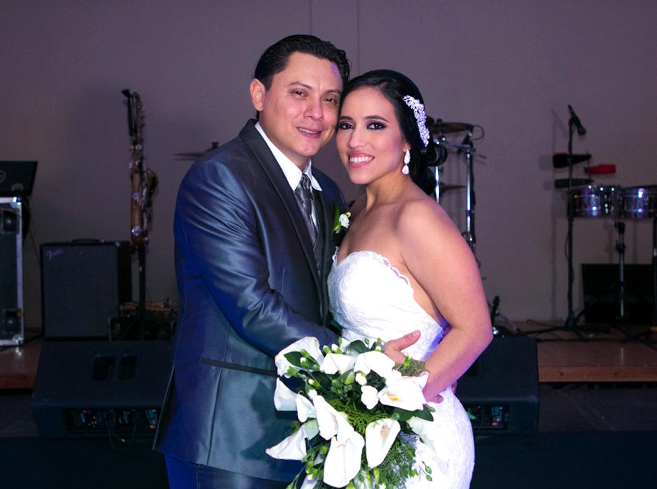 Luz Coello y Marco Medina