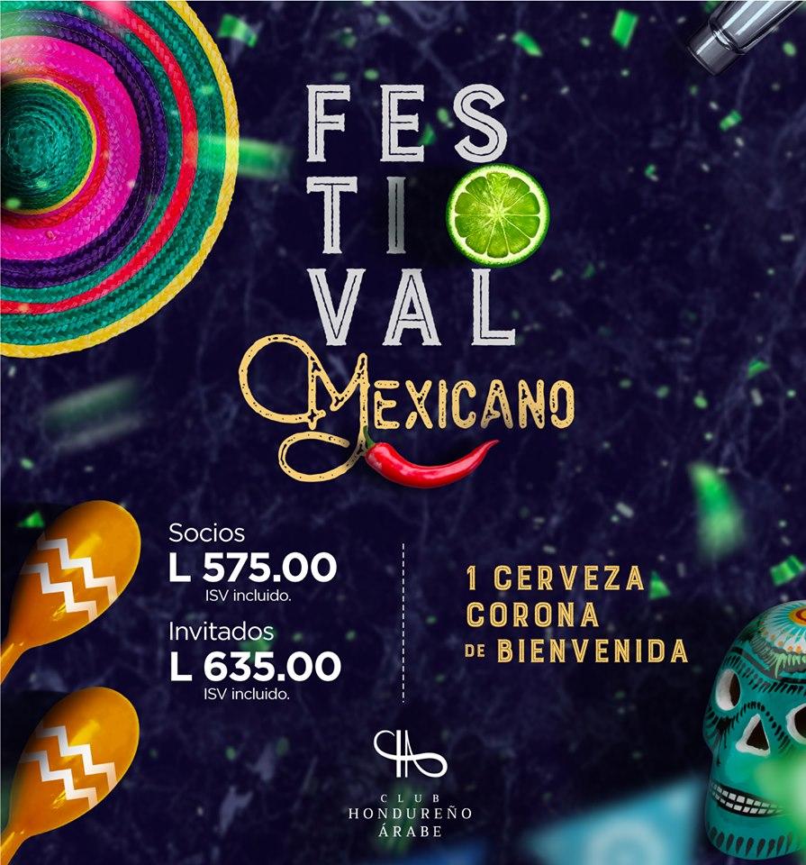 Festival Mexicano 2019 by Club Hondureño Árabe