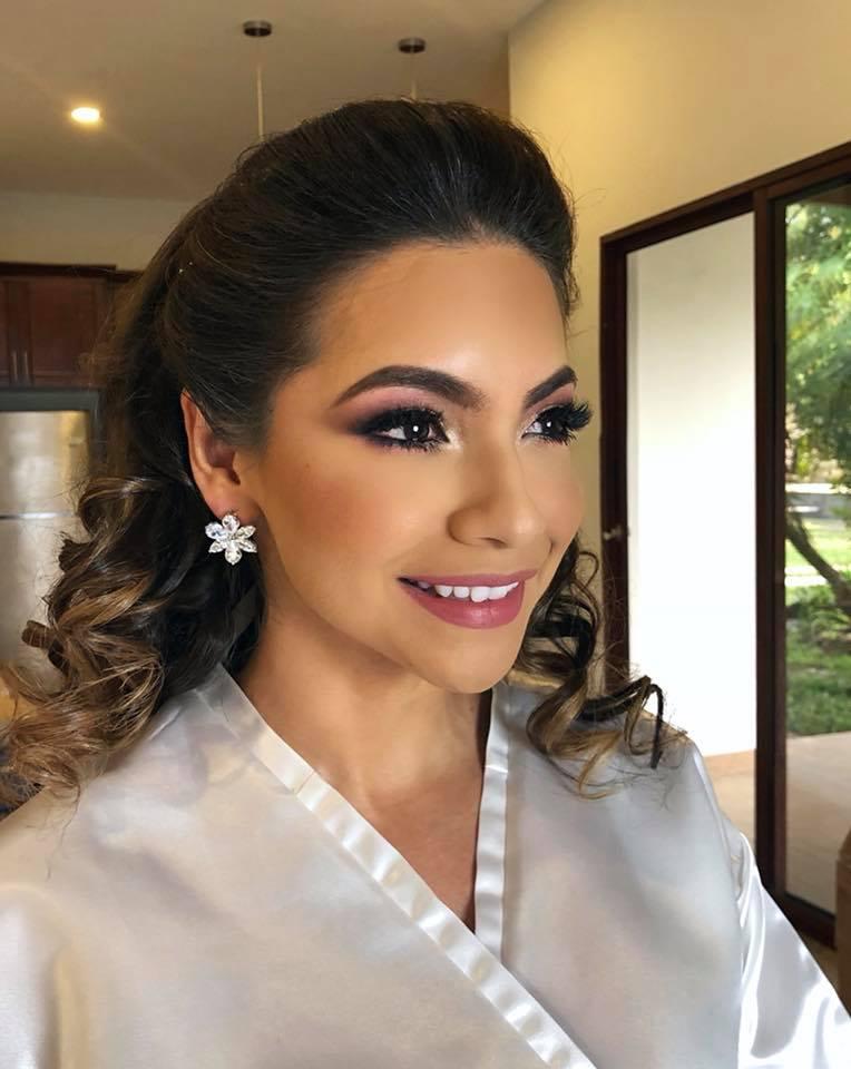La maquillista Mely Torres
