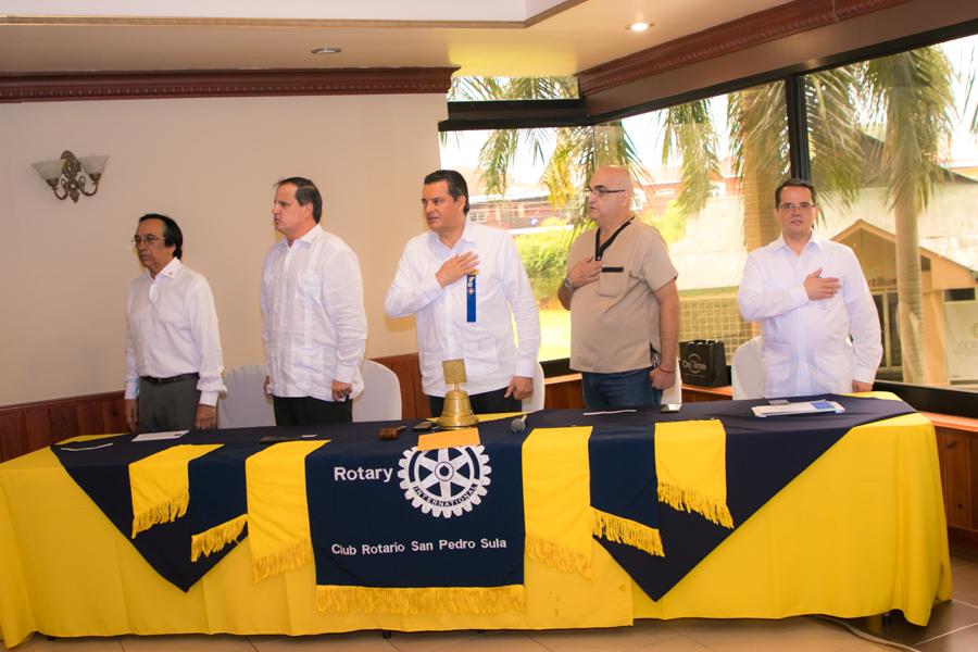 Socio Honorario Club Rotario San Pedro Sula