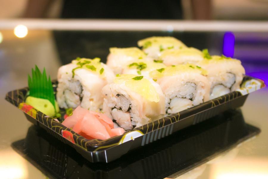 Wine paint& Sushi