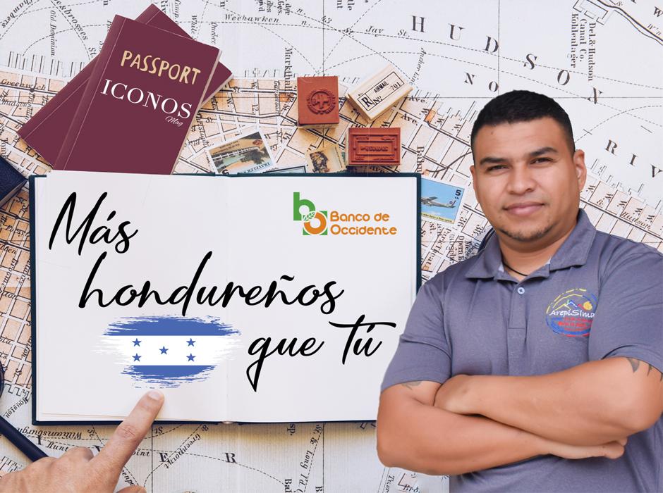 David Berdugo en Más Hondureños que Tú
