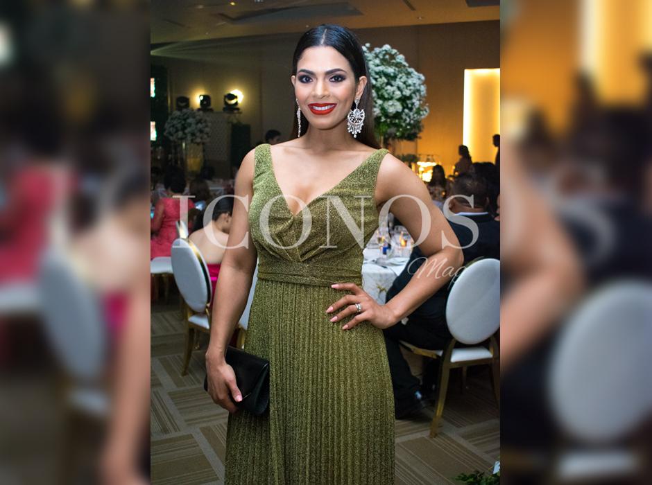 Hondureños famosos en la boda de Tita Torres y Carlo Costly