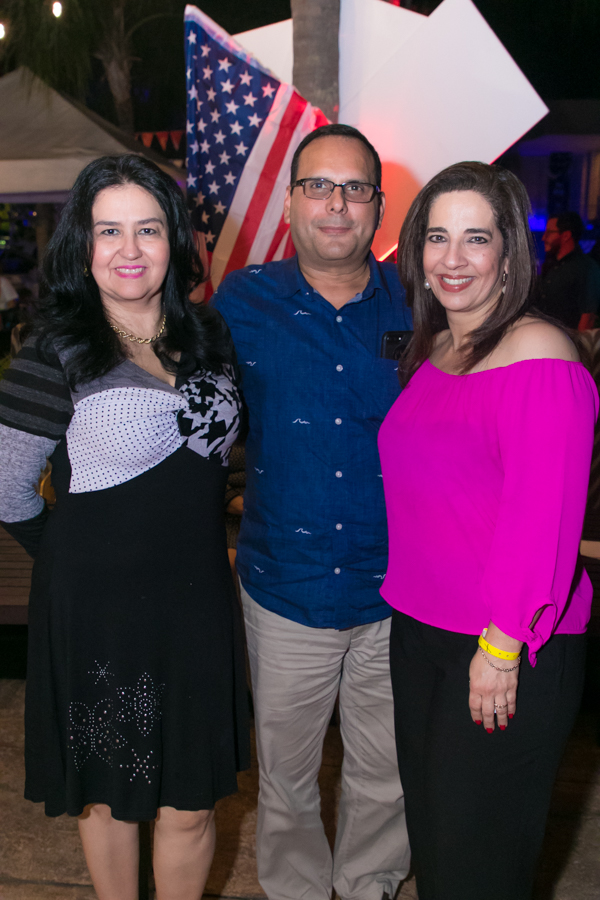 4Th of july celebration by Club Hondureño Árabe