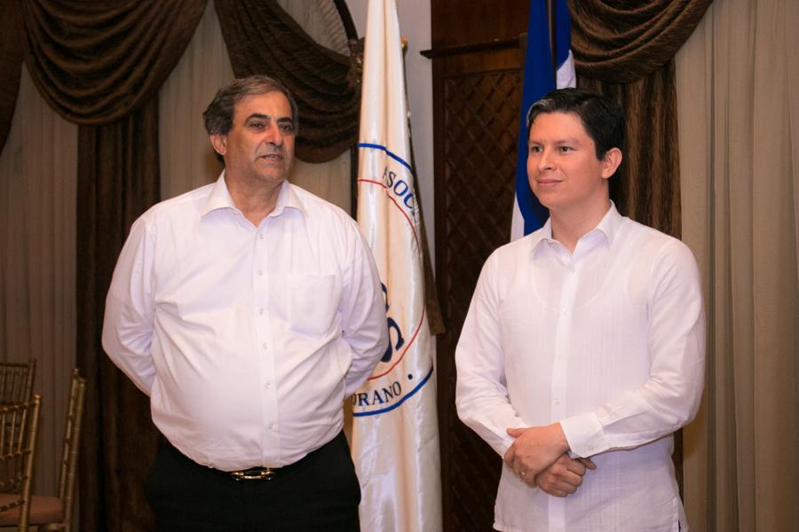 Los nuevos cónsules del Cuerpo Consular Sampedrano