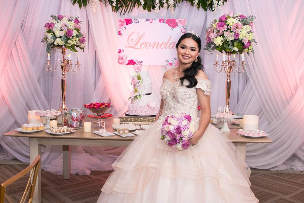 Los quince años de Leonela Aguilar Martínez