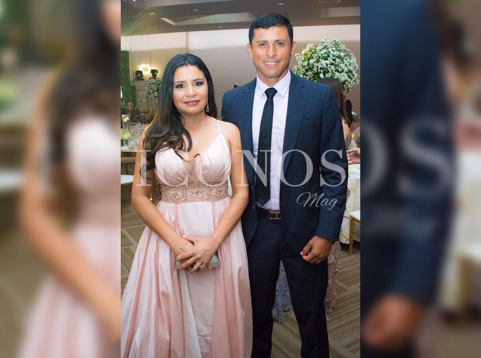 Famosos del deporte hondureño en la boda de Tita Torres y Carlo Costly