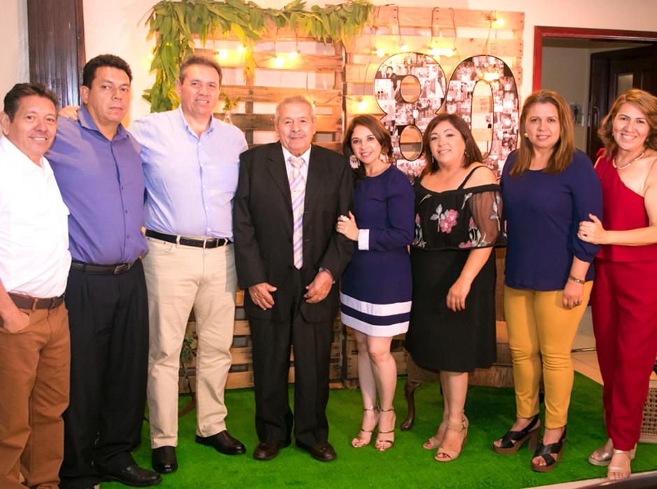 Fiesta por los 80 años de Armando Romero