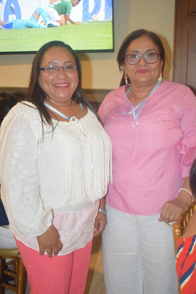 El baby shower para Alejandra Obando de Sabillón
