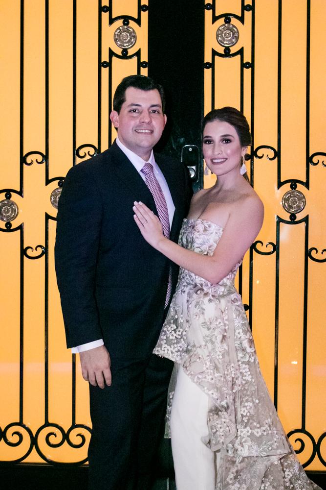 La boda civil de Andrea Interiano y Gustavo Robelo