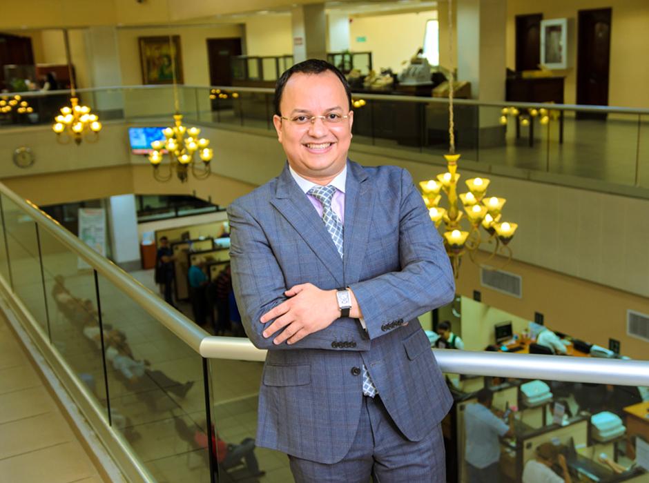 Nahúm Moreno, gerente nacional de mercadeo de Banco de Occidente