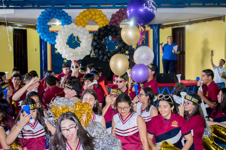 Seniors Entrance clase 2020 Instituto bilingüe Kiddy Kat Morazzanni